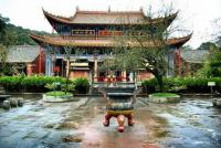 Qiongzhu Temple Sight