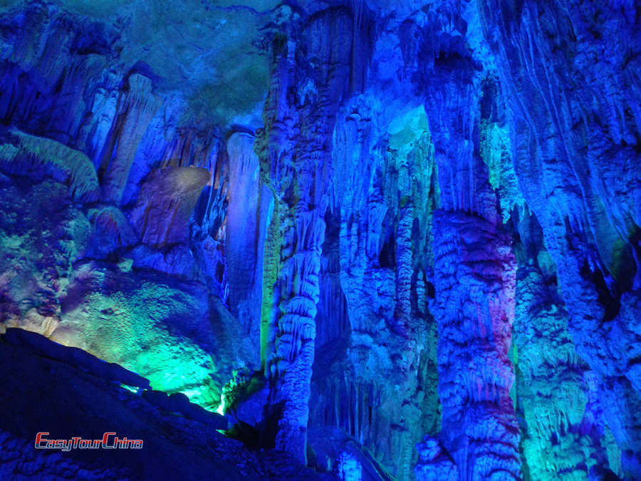 Guilin Reed Flute Cave attractions & highlights