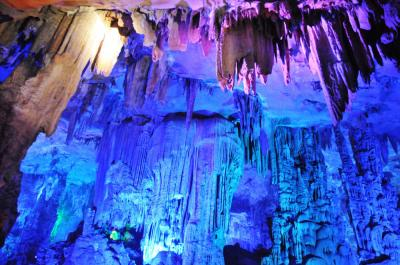 The Lighting Effects of Reed Flute Cave