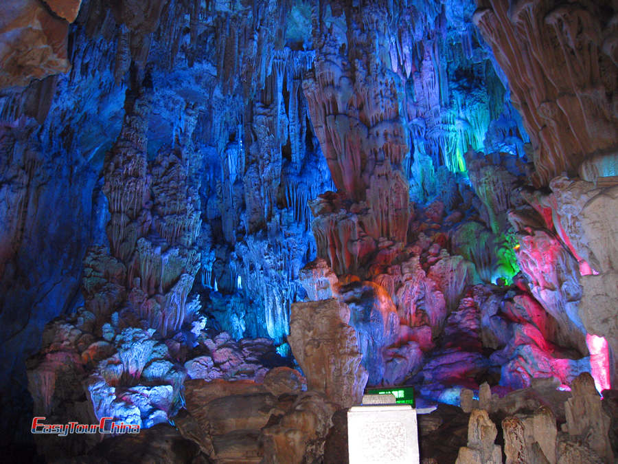 Reed Flute Cave stalactite