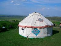 Overview of Khazak Yurts