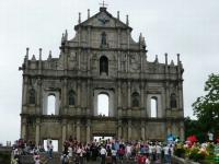 Ruins of St. Paul's Facade