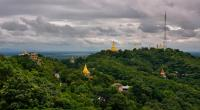 Sagaing Hill Panorama View