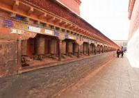 Sakya Monastery Prayer Wheels