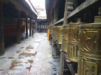 Sera Monastery Prayer Wheels