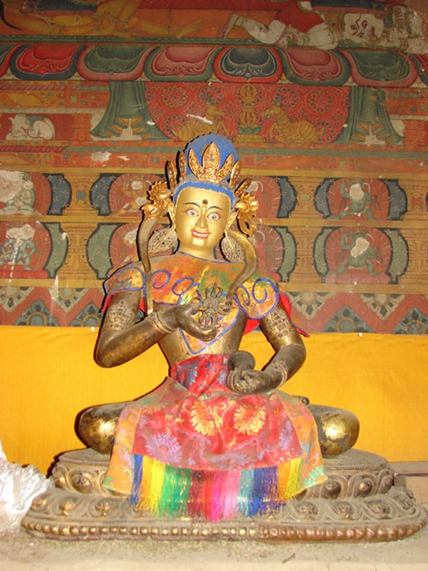 Shalu Monastery Colorful Sculpture