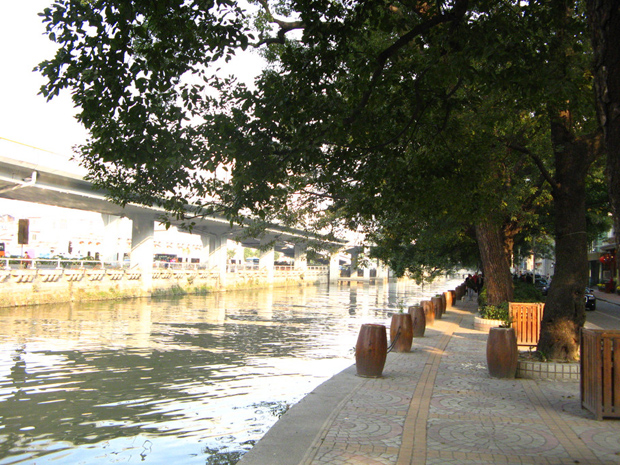 Shamian Island Tranquil River