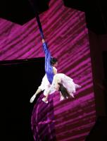 Shanghai Acrobatic Shows Wire Hanging