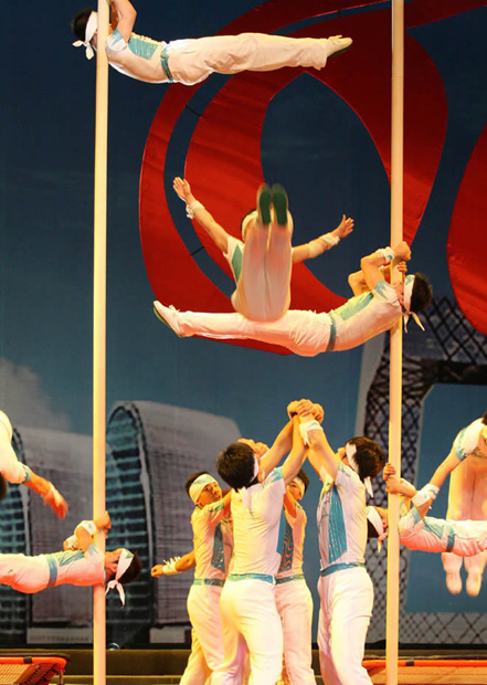 Shanghai Acrobatic Shows Altitude Performance