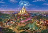 Shanghai Disneyland themed lands