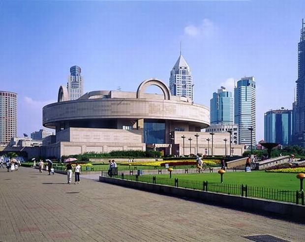Shanghai Museum Outside View