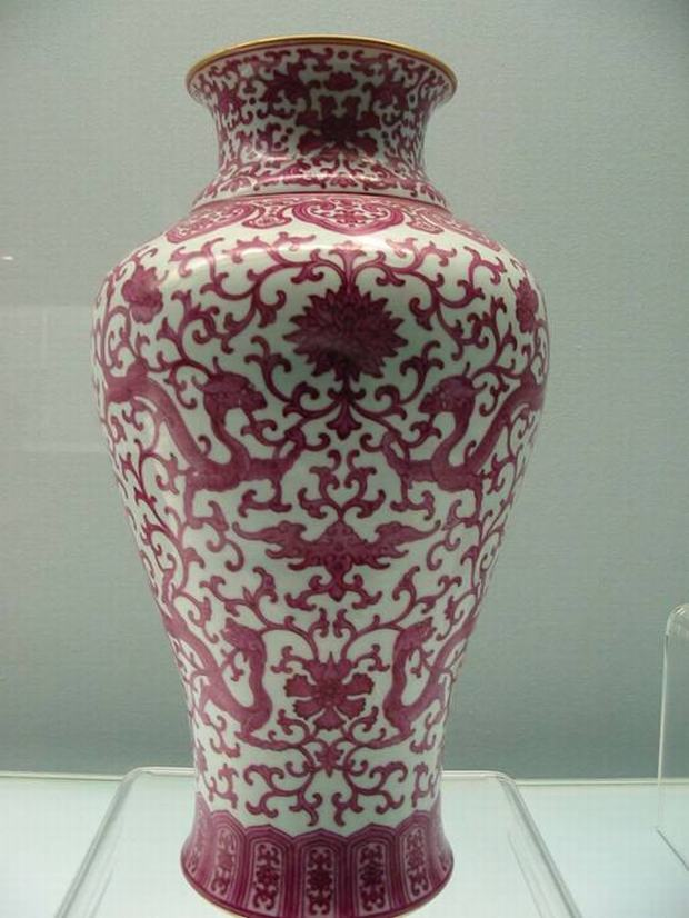 Shanghai Museum Red Porcelain