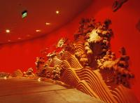 Shanghai Ocean Aquarium Carving Wall
