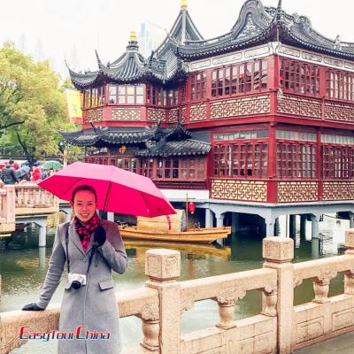 Irish Customer Visited Shanghai Yu Garden 2017