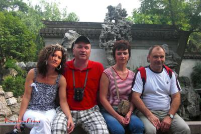 Group Tour to Shanghai Yu Garden