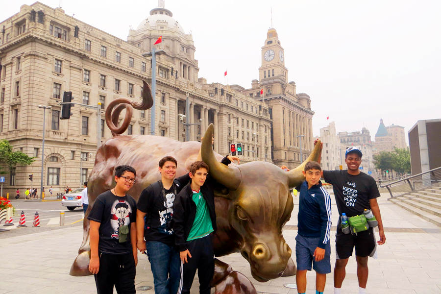 The Bund Tour of Shanghai