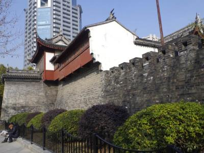 The Shanghai Old City Wall