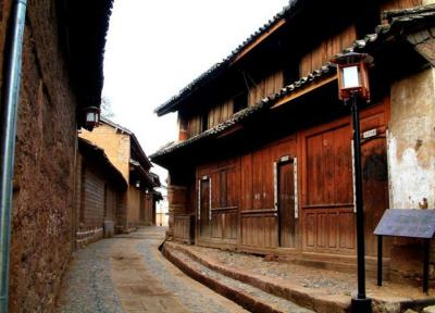 Shaxi Town Wooden Houses