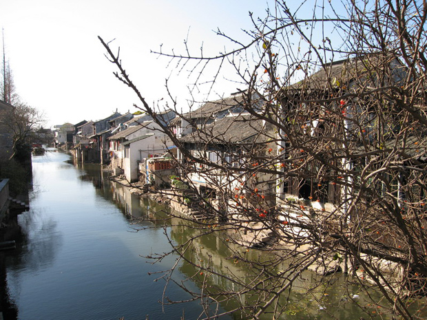 Shaxi Town Houses Along River