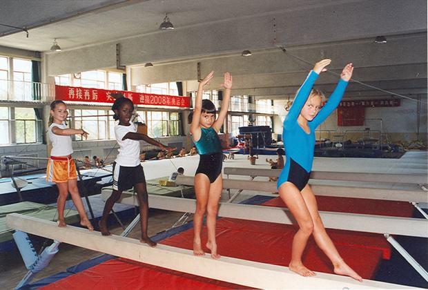 Asi entrenan los chinos para las olimpiadas