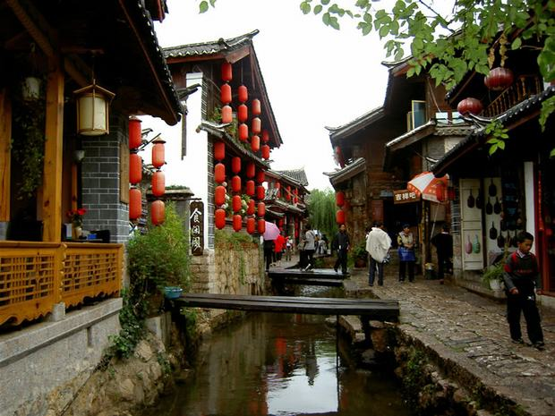 Beautiful Shuhe Old Town