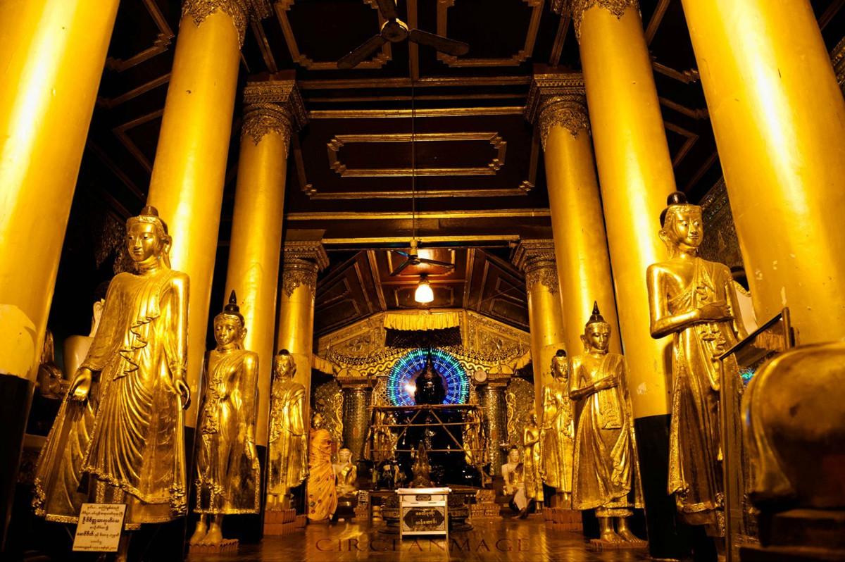 Inside Shwedagon Pagoda Shwedagon Pagoda Pictures