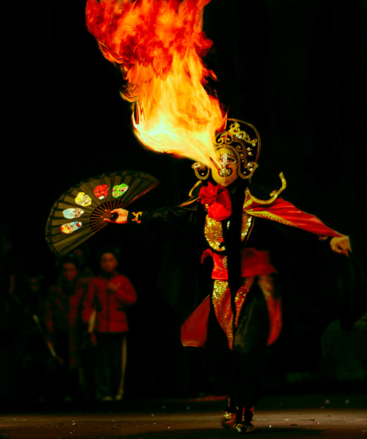 Sichuan Opera Fire Magic
