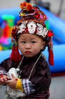 Little Miao boy of Sister's Meal Festival