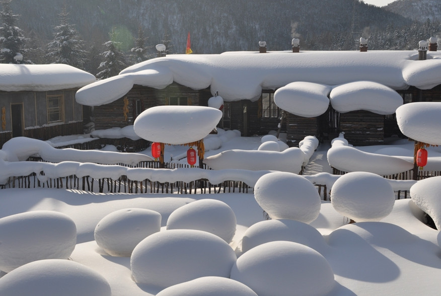 Snow Town The Homeland Of Snow In China Xuexiang In