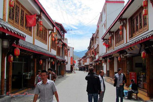 Songpan Ancient Town Street
