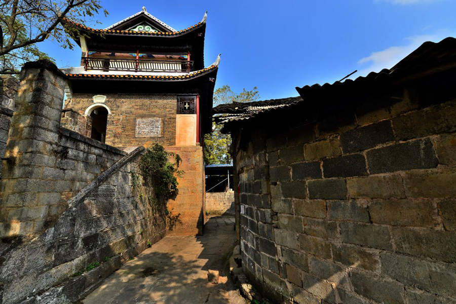 Huangsiqiao ancient city at Southern Great Wall
