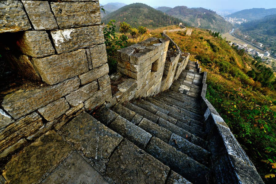 The stunning view on Southern Great Wall
