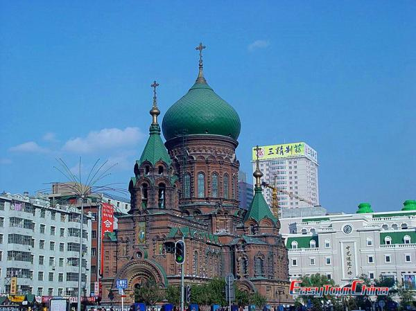 Harbin St. Sophia Church View