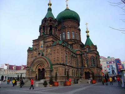 St. Sophia Church in Harbin City