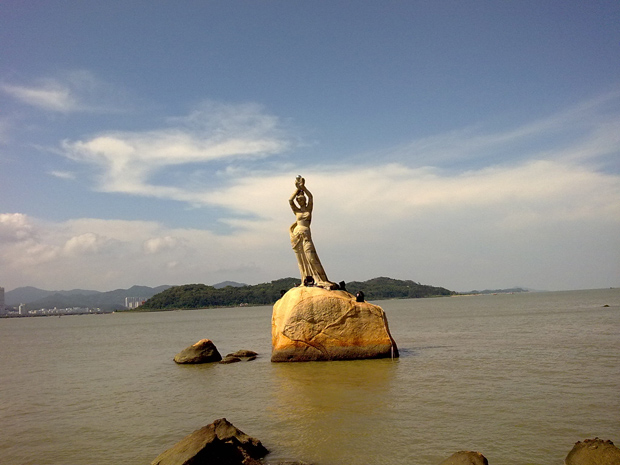Zhuhai Fisher Girl Statue