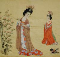 Painting of the Figures of Ladies