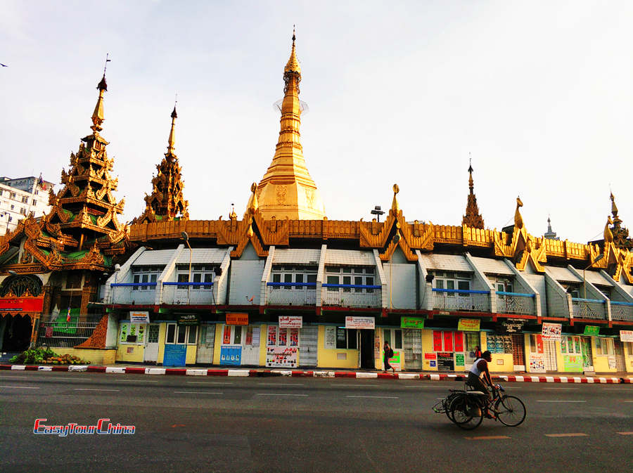 Myanmar tour with Sule Pagoda