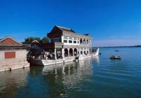 The beautiful Kunming Lake in Summer Palace