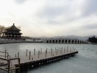 Kunming Lake in Summer Palace in December
