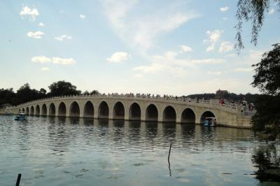 Seventeen-Arch Bridge in Summer Palace