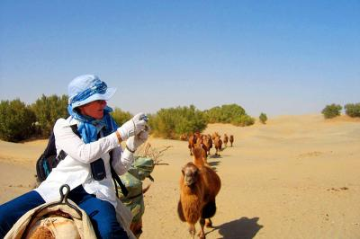 Xinjiang Desert Exploration by Camel Ride