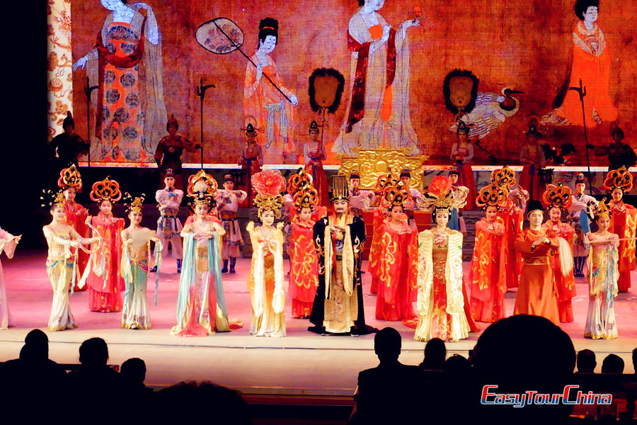 Traditional Chinese dance of Tang Dynasty