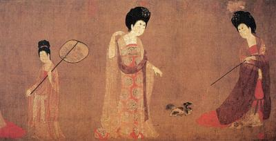 Tang Dynasty Maid Painting