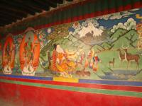 Tashilhunpo Monastery Mural Paintings