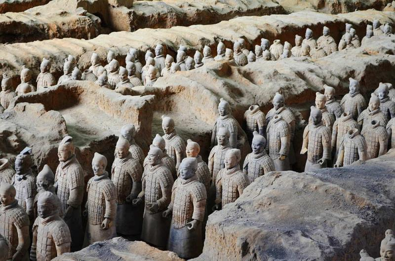 Visit Terracotta Army in Xian