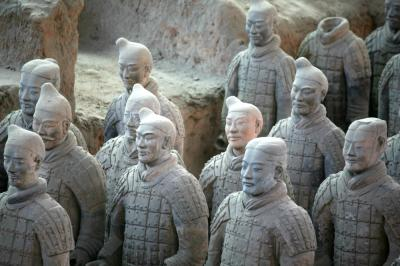 Images of Xian Terra-cotta Warriors & Horses