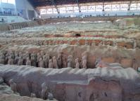 Panorama of Terra Cotta Warriors