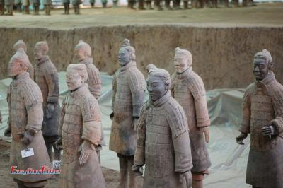 The Life-sized Terracotta Warriors
