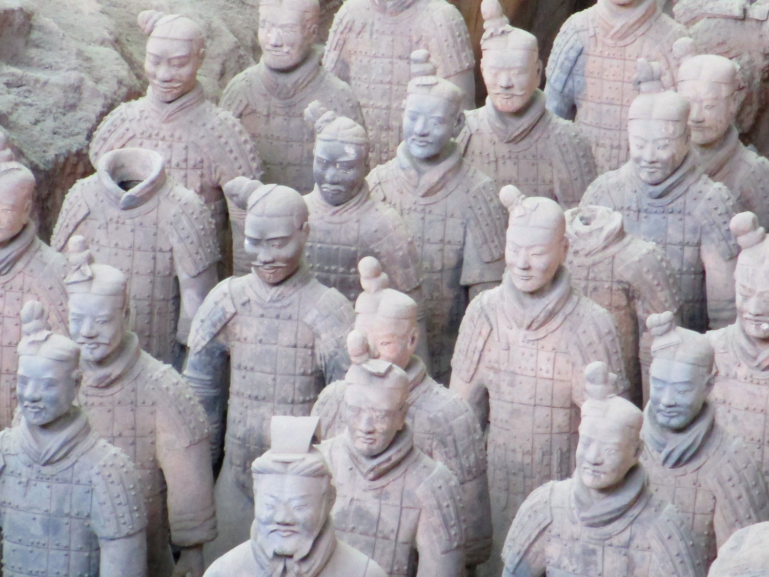Terra Cotta Warriors and Horses Museum in China