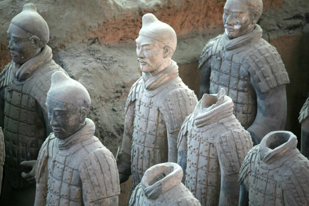Details of Terra-cotta Warriors